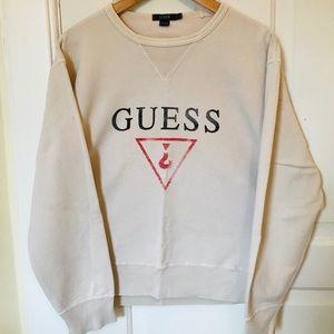 J. Crew GUESS logo sweatshirt